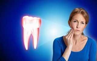 Зуб без нерва под коронкой болит