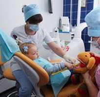 Как лечат молочные зубы