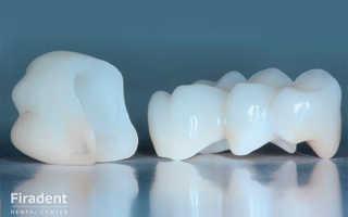 Коронки для зубов цирконий