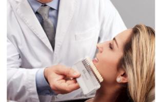 Кабинетное отбеливание зубов