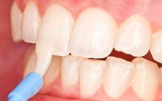 Зубная эмаль восстановление