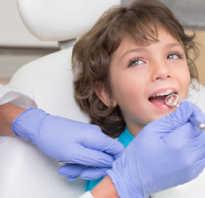 Корни молочных зубов рассасываются