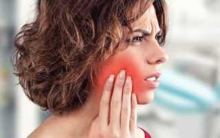 Воспаление внутри щеки